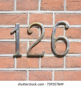 House number one hundred and twenty six (126)