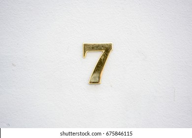 House number seven (7).