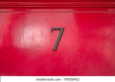 House number seven (7)
