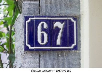 House number sixty seven (67)