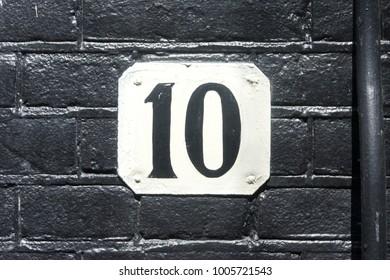 House number ten (10)