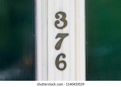 House number thee hundred and seventy six (376)