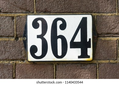 House number thee hundred and sixty four (364)
