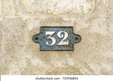 House number thirty two (32)