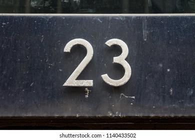 house number twenty three (23)