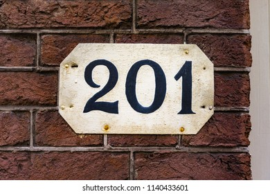 House number two hundred and one (201)