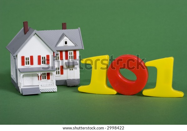 A house with the numbers 101