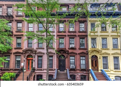 House on Astor Row. Astor Row is the name given to 28 row houses on the south side of West 130th Street, between Fifth and Lenox Avenues in the Harlem neighborhood of Manhattan, New York City