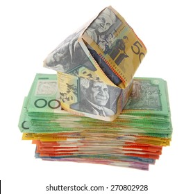 House on Australian Money - Aussie currency