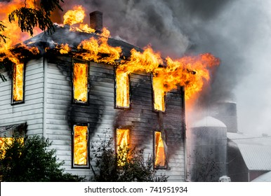 A House On Fire and Burning Down, Putting Out The Flames