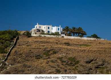 House on a hill. Syros, Cyclades