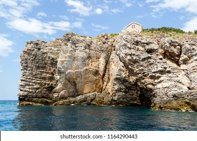 House on a rock above the sea