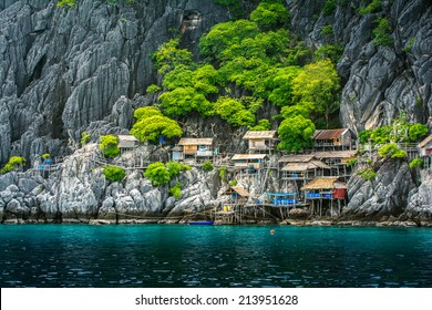 House on tropical island, Koh Tao, Thailand