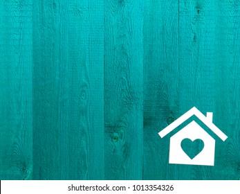house on  wood
