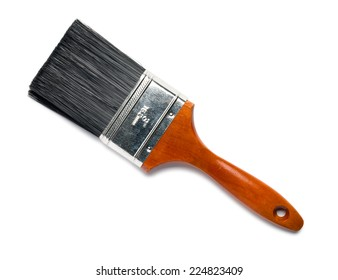 House Paintbrush on White