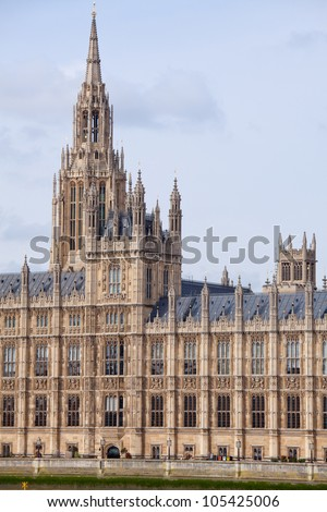 House Parliament Palace Westminster London England Stock Photo Edit
