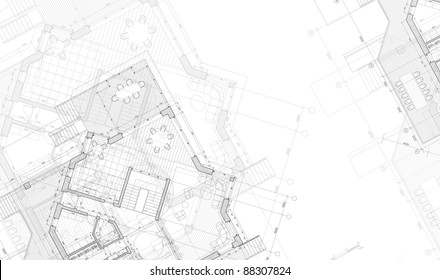 House blueprint images stock photos vectors shutterstock house plan architecture blueprint bitmap copy my vector malvernweather Choice Image