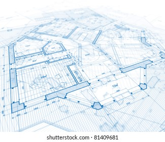 House blueprint stock images royalty free images vectors house plan blueprint malvernweather Gallery