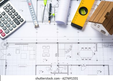 House plans with calculator for costing estimate
