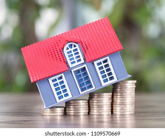House price rise concept