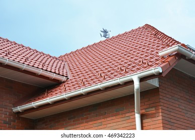 House Problem Areas for Rain Gutter Waterproofing. Guttering, Gutters, Plastic Guttering, Guttering & Drainage. Guttering Down pipe Fittings