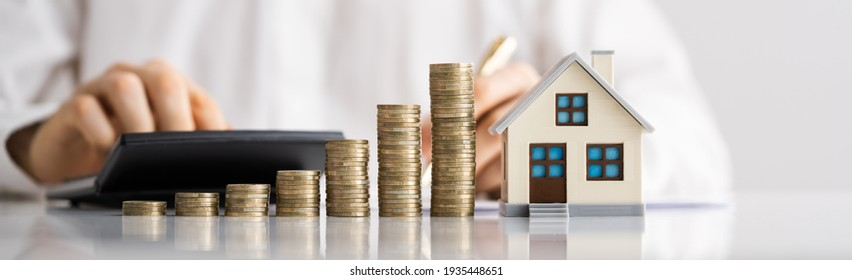 House Property Tax. Saving Money And Mortgage
