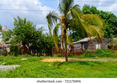 House in the province of Villa Clara, Cuba, the most central region of the country
