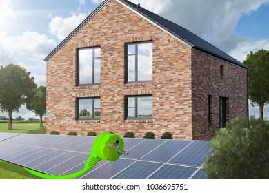 House with renewable energy