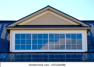 house roof skylight window residential home facade