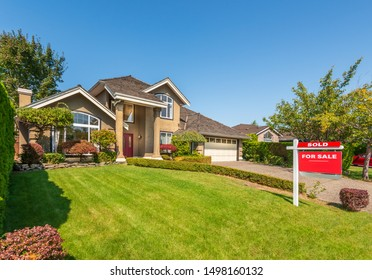 House for sale in Vancouver, Canada.