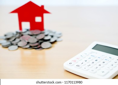 House Savings Calculations Coins