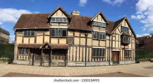 House of Shakespeare., Stratford upon Avon, Warwickshire England, UK. 26th March 2019. For editorial use only.
