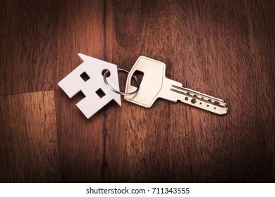 House shape key chain