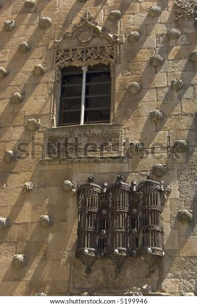 House of the Shells. Salamanca, Spain