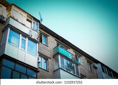 a house with sky