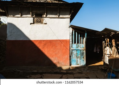 House in a small village in Lamjung district, Nepal