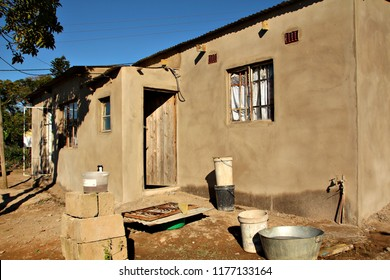 A house in a South African township.
