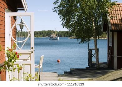 A house in Stockholm archipelago, Sweden