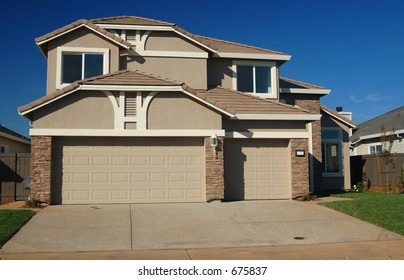 A house in the suburbs