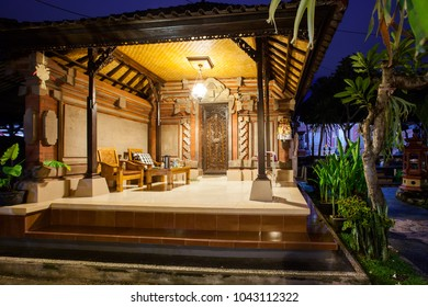 House for tourists in Ubud, Bali, Indonesia