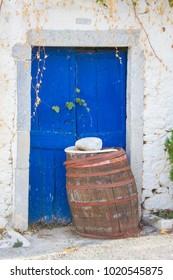 House in traditional village Milatos on Crete, Greece