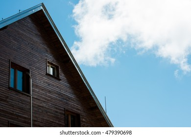 A house under blue sky