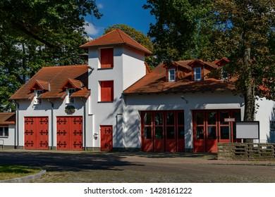 House of the Voluntary Frire Brigade in Gosen