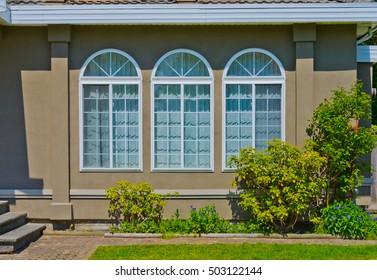 House window.