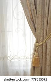 house window curtain