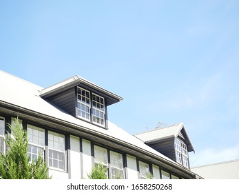 House Windows in a wedding reception place