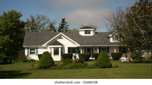 House and yard
