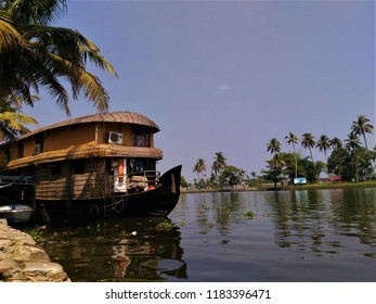 Houseboat from Alleppey Kerala India