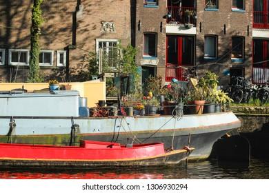Houseboat Amsterdam boat