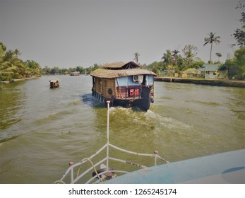 Houseboat from kerala backwaters